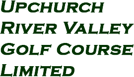 Upchurch River Valley Golf Course Limited